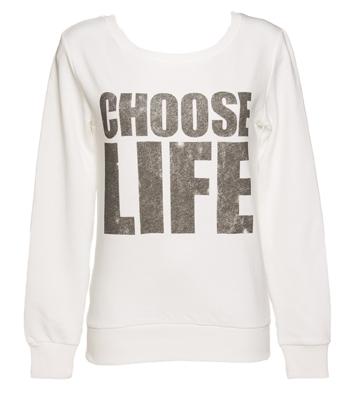 Ladies Choose Life Jumper £29.99
