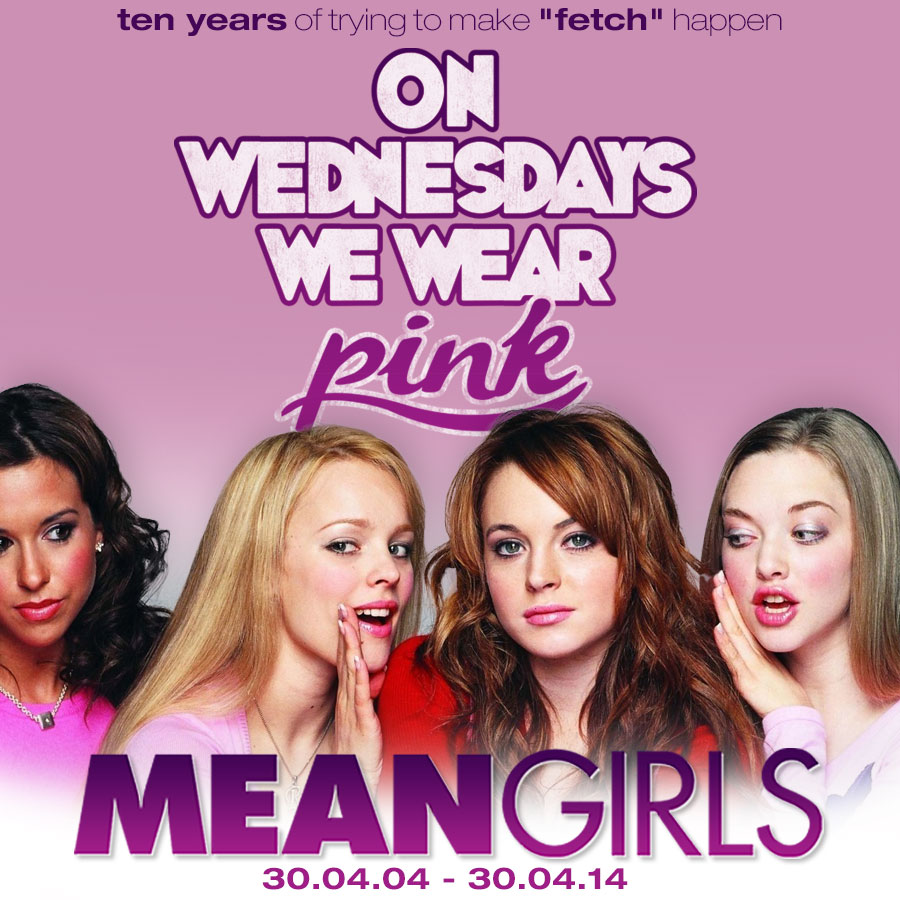 Mean Girls Quotes On Wednesdays We Wear Pink: TruffleShuffle.com Official Blog