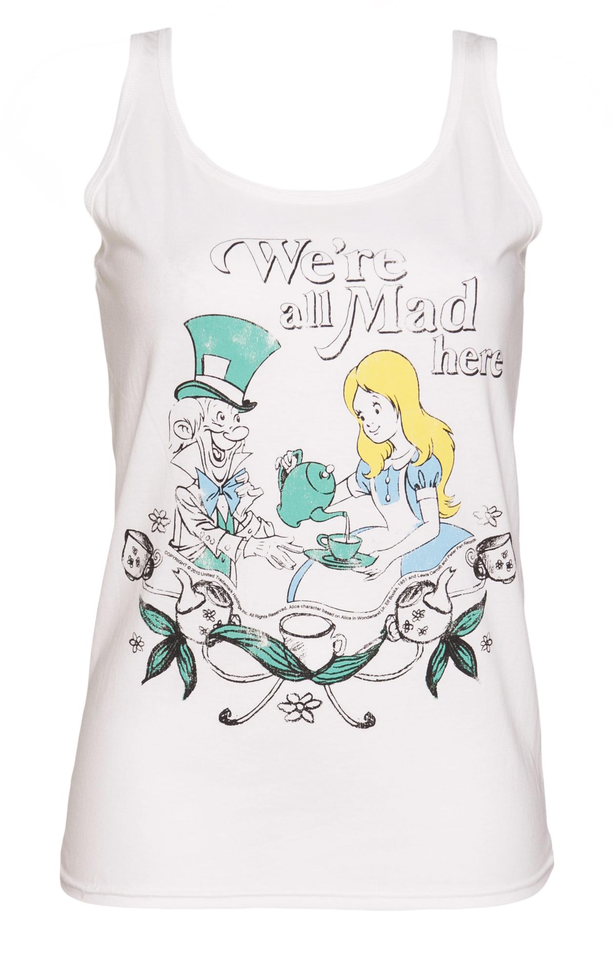 Alice In Wonderland Vest
