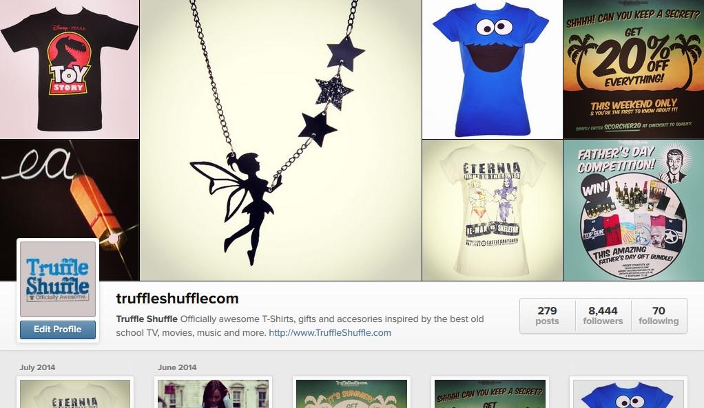 TruffleShuffle Instagram