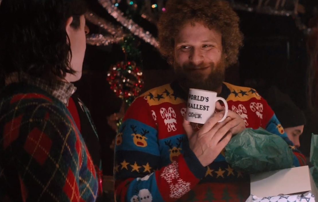 Deck The Halls! Our Christmas Jumpers Spotted in New Seth Rogan Film!