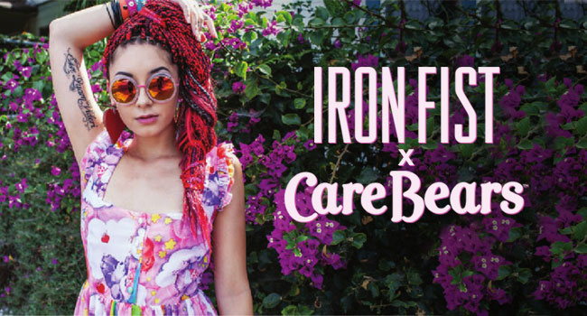 Iron Fist x Care Bears Collection