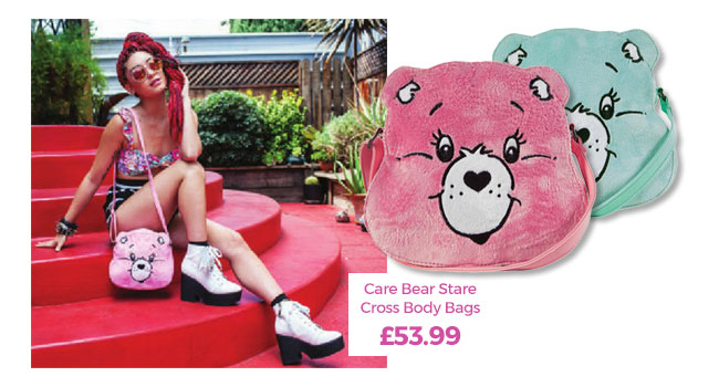 Fluffy Care Bear Stare Cross Body Bags