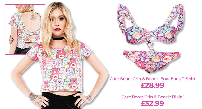 Care Bears Bow Back Top and Care Bears Bikini
