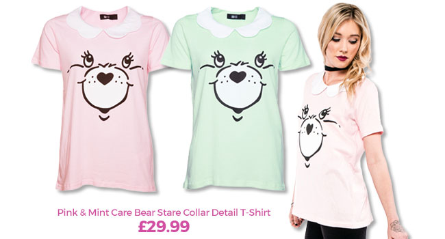 Care Bear Stare Collar Detail T-Shirts