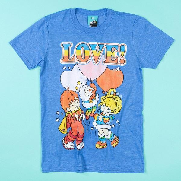 Rainbow Brite Love Blue T-Shirt