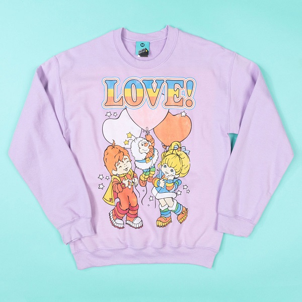 Rainbow Brite Love Orchid Sweater