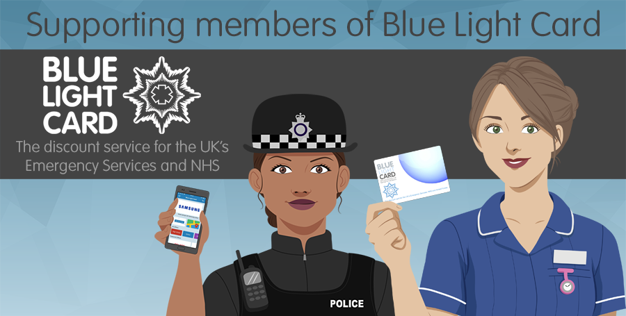 Blue Light Card TruffleShuffle NHS Discount