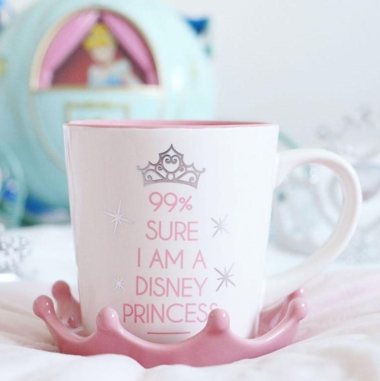 Disney Princess Mug With Crown Lid