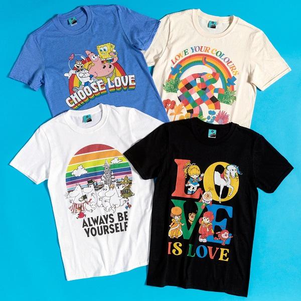 TruffleShuffle Pride Charity TShirts